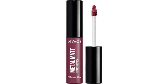 Divage Metal Glam Liquid Lipstick