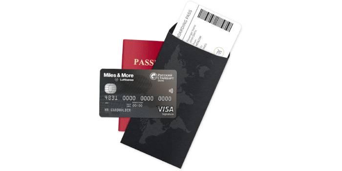 Miles & More Visa Signature Credit Card для путешествующих