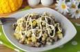 Салат с фасолью и копченой колбасой: как приготовить