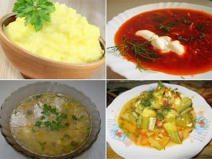 Блюда на обед при болезнях желчного пузыря