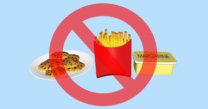 Ограничение холестериновых продуктов в пище