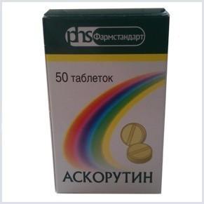 Таблетки аскорутин для лечения кровотечения из носа
