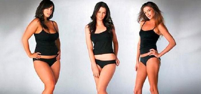 Астенический тип фигуры у женщины