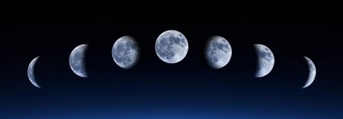 От фазы Луны зависит скорость роста волос