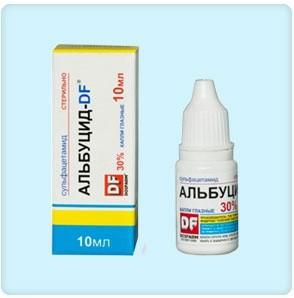 Капли Альбуцид – бюджетное лекарство от ячменя