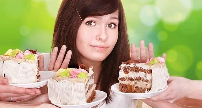 Отказ от мучных и сладких продуктов