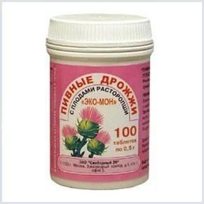 Дрожжевой препарат «Эко-Мон» для набора веса