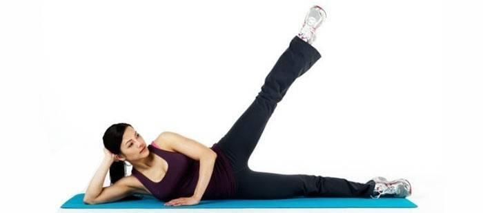 Махи ногами – тренировка чтоб похудеть