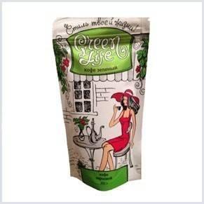 Кофейный препарат Green life для снижения веса