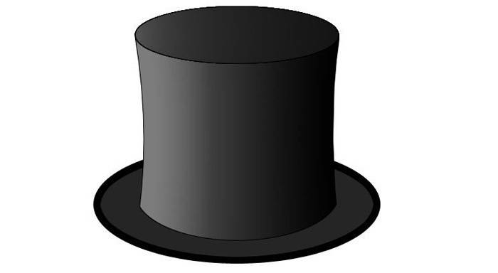 Черный цилиндр