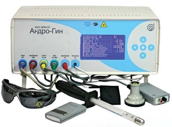 Аппарат для электростимуляции при простатите