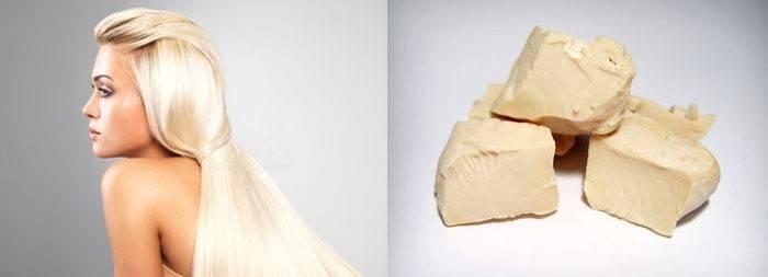 Блондинка и дрожжи