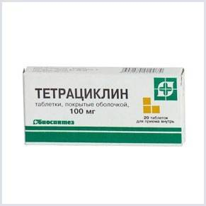 «Тетрациклин» быстро одолеет инфекционный понос