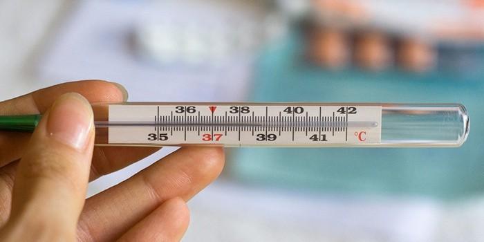 Беременна температура 39