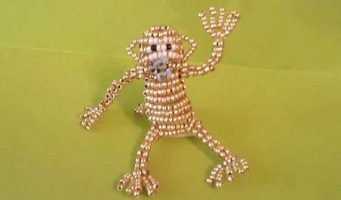 Бисерная обезьянка