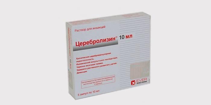 Церебролизин для лечения вертебро-базилярной недостаточности