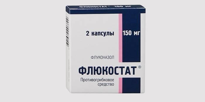 Таблетки для лечения молочницы - «Флюкостат»
