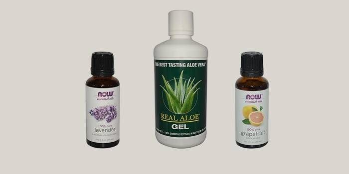 Ингредиенты для изготовления антисептика своими руками