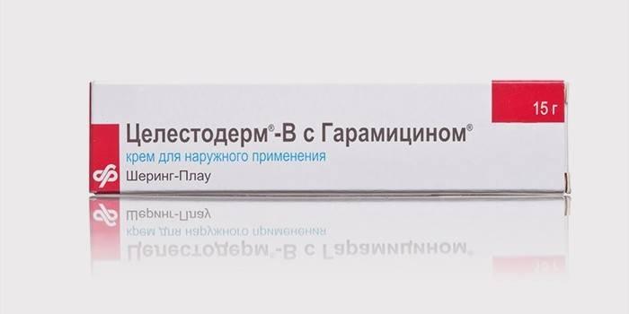 «Целестодерм» - крем от экземы на руках