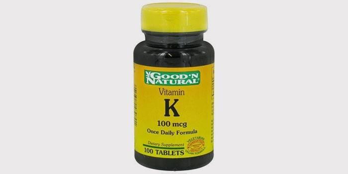 Витамин К в таблетках