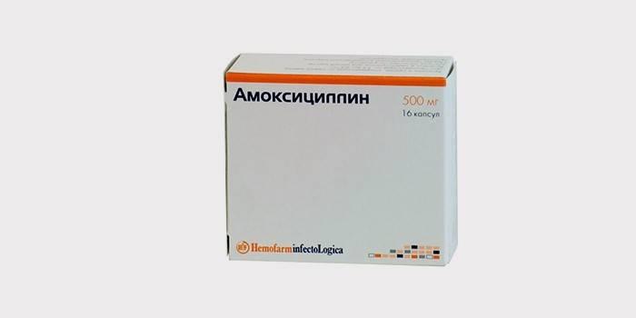 Амоксициллин для лечения гайморита