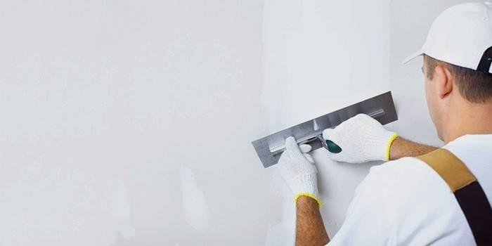 Подготовка стены для ремонта