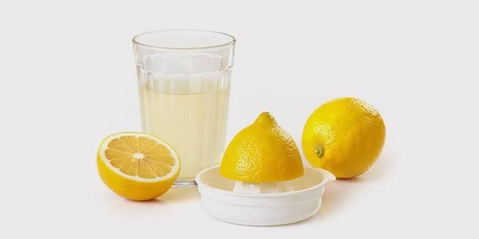 Лимонная вода для спринцеваний