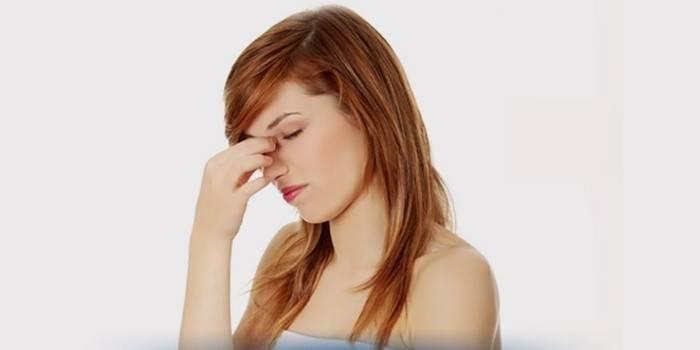 Заложенность носа без насморка у взрослой женщины