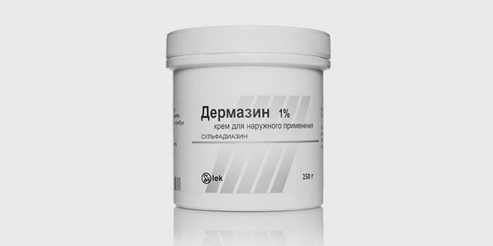 Крем антибактериального действия Дермазин