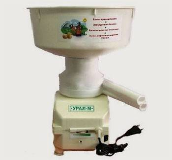 Устройство бытовой молочной сепарации