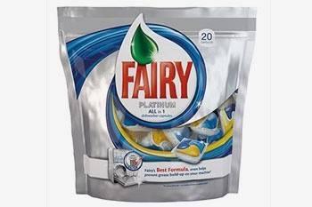 Таблетки для посудомойки Fairy