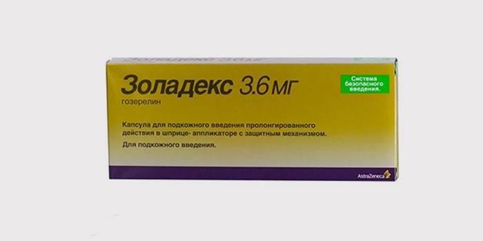 Препарат «Золадекс» для лечения полипов в матке