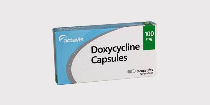 Лекарство от панкреатита - «Доксициклин»