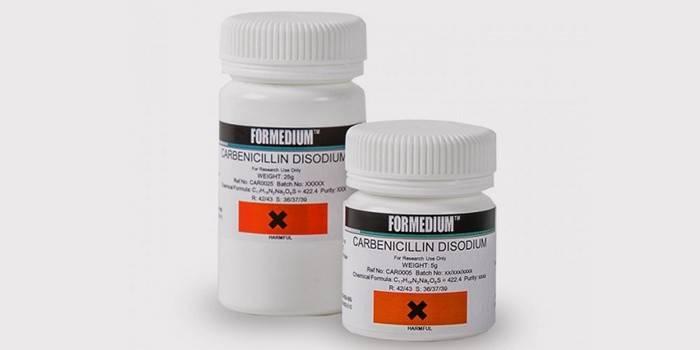 Препарат «Карбенициллин» для лечения хронического пиелонефрита