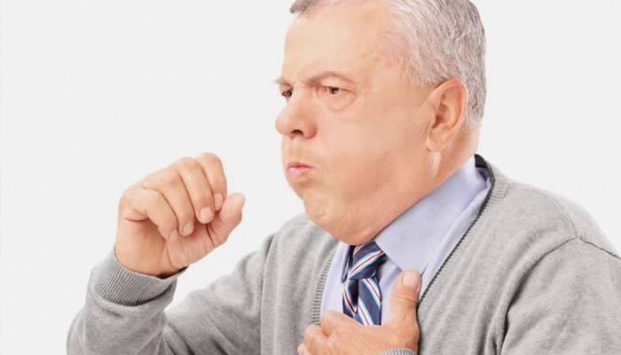 Приступ аллергического кашля