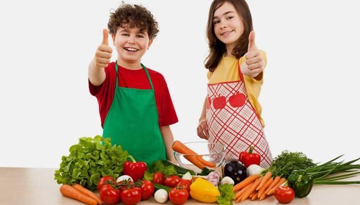 Дети придерживаются рационального питания