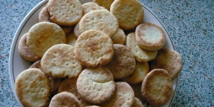Детское печенье с творогом