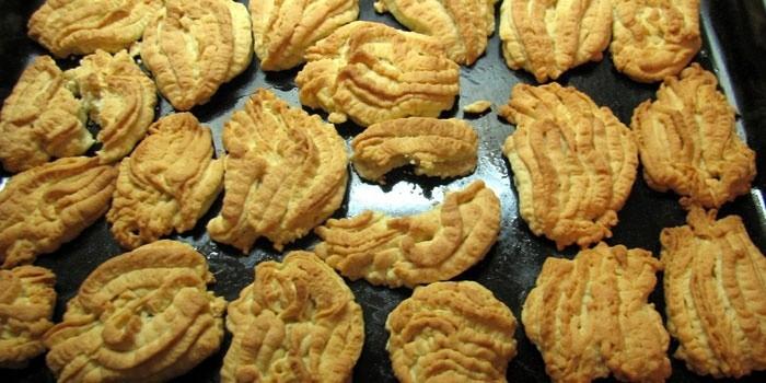 печенье через мясорубку пошагово с фото