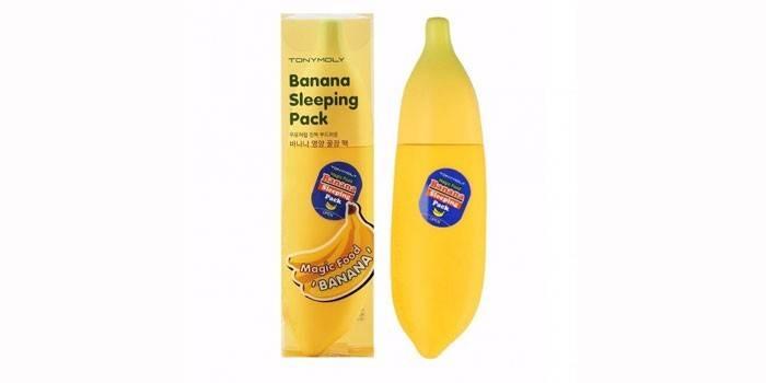 Питательная Banana Sleeping Pack