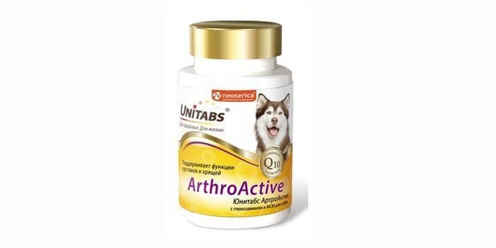 Витамины для собак Unitabs Arthroаctive