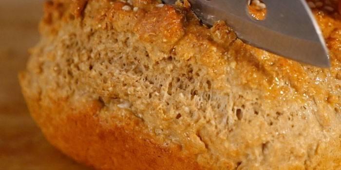 Домашний белковый хлеб
