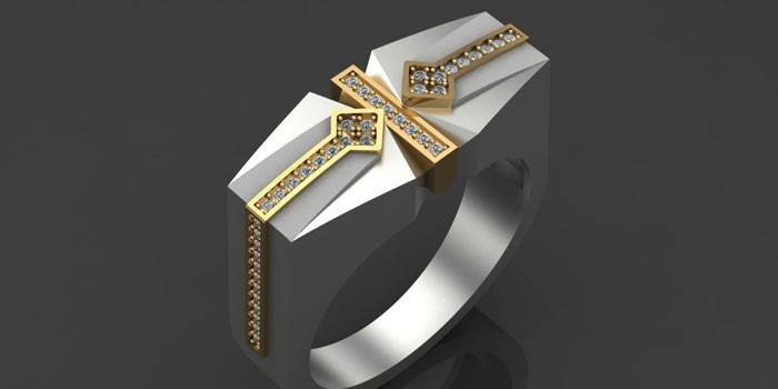 Мужское перстень