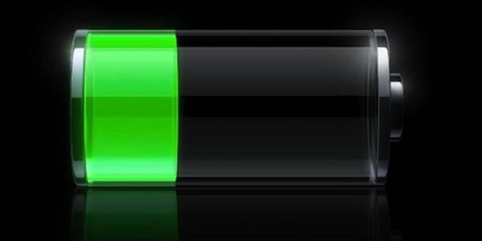 Значок зарядки батареи телефона