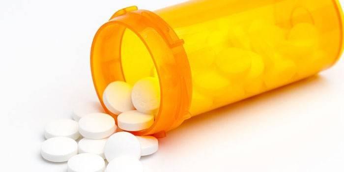 Таблетки белого цвета