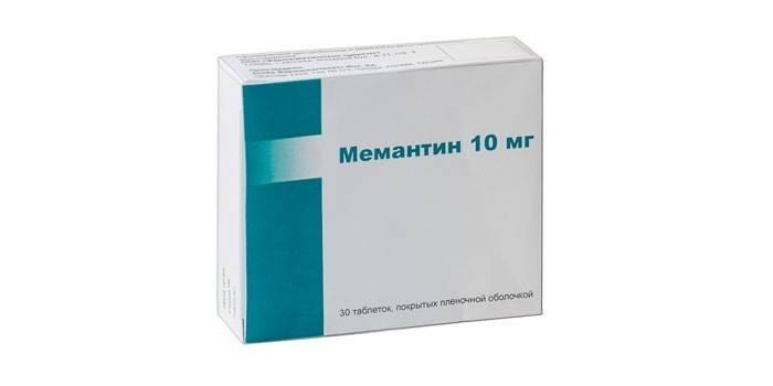Препарат Мемантин