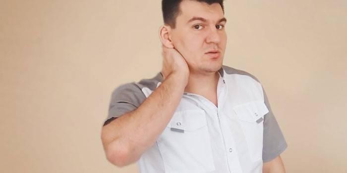 У мужчины фибромиалгия