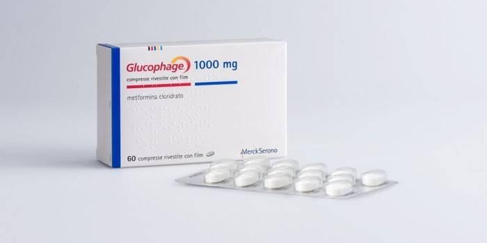 Таблетки Глюкофаж