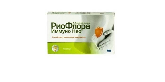 Препарат Риофлора Иммуно Нео в упаковке