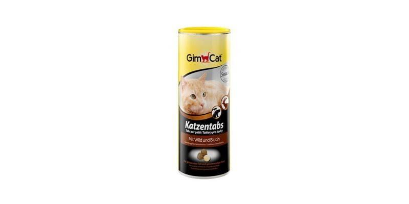 Витамины Katzentabs от GimCat