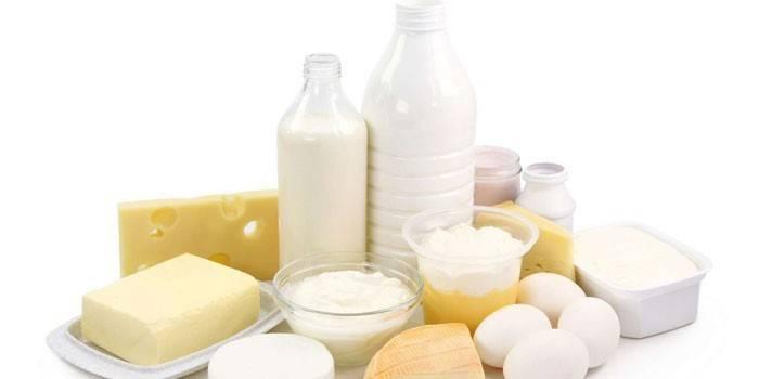 Молочные и белковые продукты